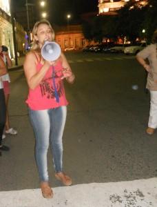 La abogada Nancy Joannás, representante de los vecinos de Talita, que luchan para erradicar ese basural.