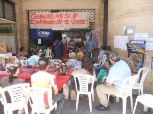 Su charla fue muy atendida por los presentes en aquellas manifestaciones por el Patrimonio Público uruguayense. (Archivo El Miércoles Digital)