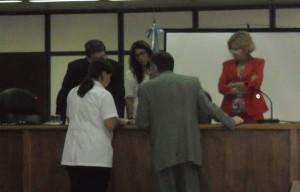 María Silvina Taleb, bioquímica del laboratorio de Criminología de la Policía de Entre Ríos, explicó los análisis.