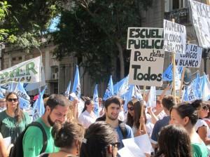 2014-paro docente miércoles 5 de marzo-Paraná