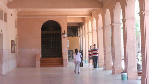 En los colegios casi no hubo actividad. (Foto: Archivo de El Miércoles Digital).