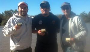 ganadores de la 4ta de pesca
