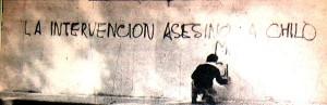 Una pintada en La Plata recuerda y acusa.