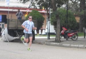 6 de julio 2014-Maratón de la ciudad-Fede