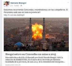 Insólitos-Bisogni tweet