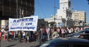 Movilización docente-Agmer-plaza Ramírez-6 de marzo de 2014 (1)