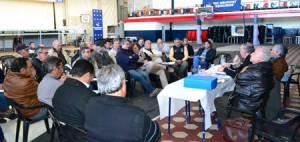 Reunión de dirigentes entrerrianos de fútbol