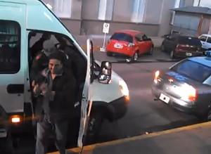 Alrededor de las 7.30 llegaron los detenidos a los tribunales federales uruguayenses.