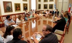 docentes con el Gobierno-18 de febrero de 2015