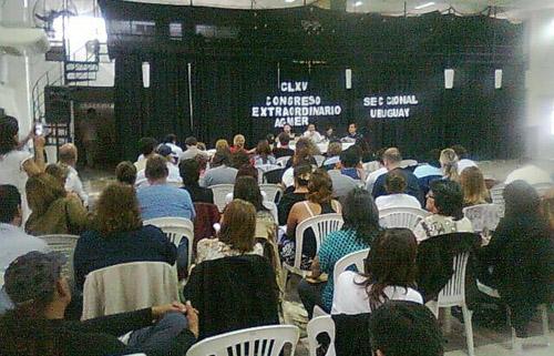 Congreso Agmer-C del Uruguay-Elbi
