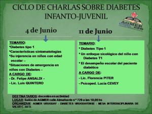 CICLO DE CHARLAS SOBRE DIABETES