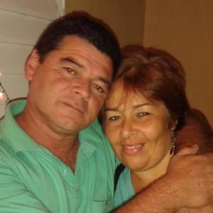 Jorge López y su esposa Angélica Alzogaray.