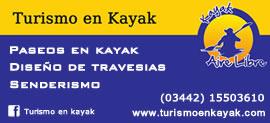 Turismo en Kayak