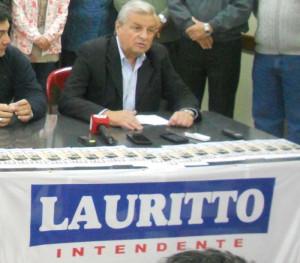20 de julio - Lauritto presenta su lista 005