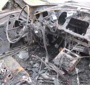 incendio-auto Urdinarrain