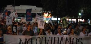 El acto concluyó en la plaza principal de la ciudad. (Foto: V.B. El Miércoles Digital)