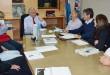 El ministro de Planificación, Benedetto se reunió con el equipo técnico  local. (Foto: Prensa de la Municipalidad).