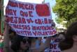 """Marcha del """"Ni una menos"""" del 25/11/15 en La Histórica. (El Miércoles Digital)."""