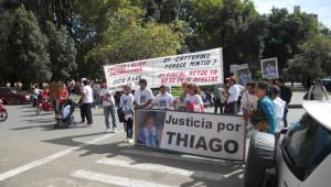 Una de las tantas marchas. (Foto: Archivo de El Miércoles Digital).