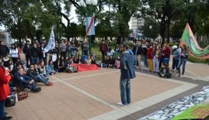 """""""El ajuste que está llevando adelante el gobierno de Macri afecta gravemente a las Universidades del país"""". (Foto: El Miércoles Digital)."""