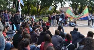 """""""El presupuesto de Uader siempre fue escaso"""" plantearon desde la agrupación FEU. (Foto: El Miércoles Digital)."""