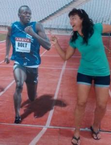 """""""Si puedo verlo correr a Usain Boldt dentro del estadio olímpico diría que el viaje sale redondito"""", desean. (Foto: Facebook. Dos voluntarios en Río 2016)."""