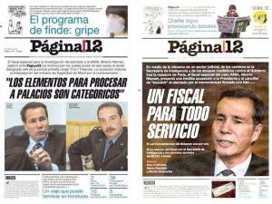 "Página/12: Nisman, un gran fiscal si perjudicaba a Macri, pero un ""servicio"" si cuestionaba al kirchnerismo."