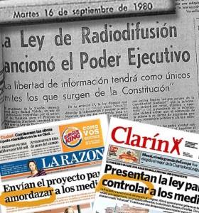 El grupo Clarín ya después del divorcio.