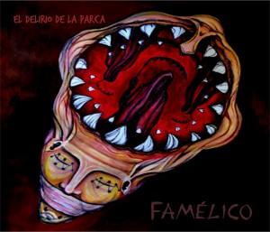 """Ilustración de """"Famélico"""", trabajo que contiene nueve canciones. (Foto: Prensa de """"El Delirio de la Parca"""")."""
