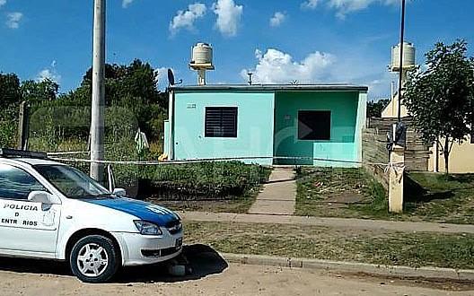 Femicidio en Concepción del Uruguay. Fue en el barrio 134 viviendas.