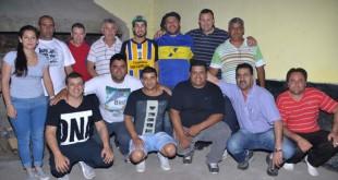 La nueva dirigencia de Almagro. (Foto: Alejandro Osuna)