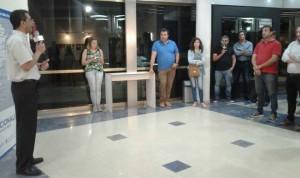 La coordinación y presentación estuvo a cargo del director de LT 11, Abelardo Santángelo, y de Martín Morasán. (Foto: El Miércoles Digital).