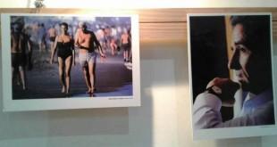 Alfredo Yabrán a la izquierda y Eduardo Duhalde, algunas de las imágenes que se exponen. (Foto: El Miércoles Digital).