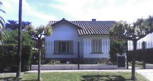 Uno de los modelos de vivienda construidas entre 1946 y 1955.